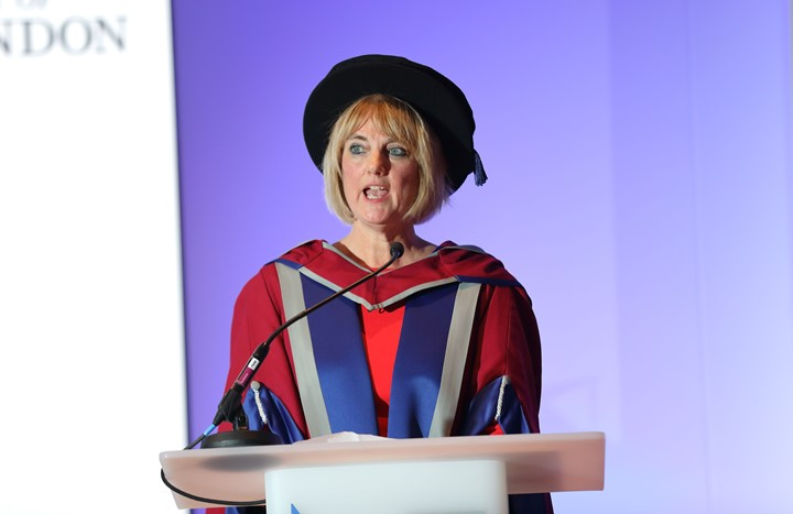 'RCM CEO receives Honorary Degree from University of West London'