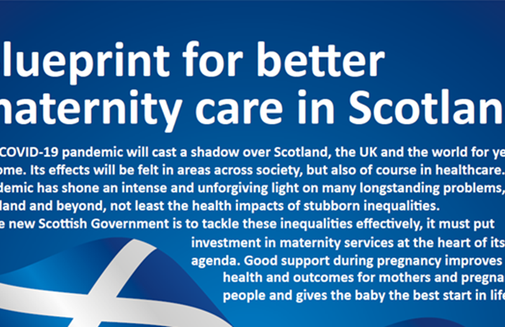 Invest in Scottish maternity to tackle deprivation says RCM in message to next government